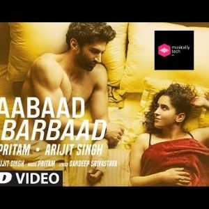 Aabaad Barbaad Chords for Guitar by Arjit Singh