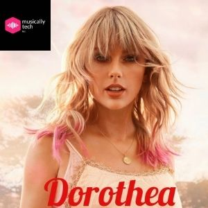 Dorothea chords by Taylor Swift (Capo 4th fret)