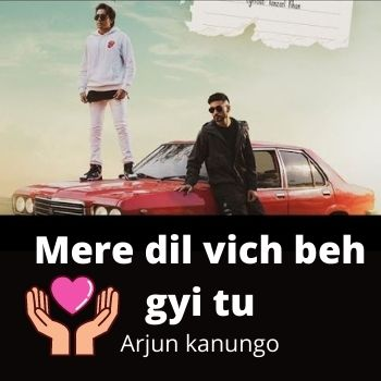 Mere Dil Vich Chords by Arjun Kanungo(Capo 5th fret)