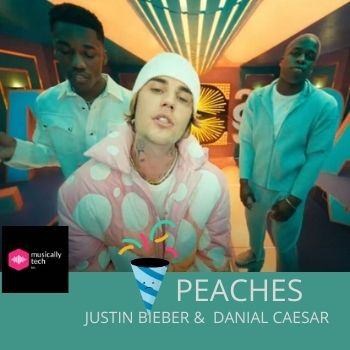 Peaches Chords by Justin Bieber(Play without scrolling)