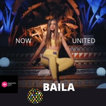 Baila Chords by Now United (Am, Dm, G, Em)