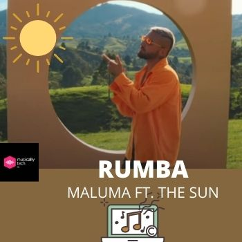 Rumba Acordes by Maluma Ft. The Sun(Pro Oro Anthem)