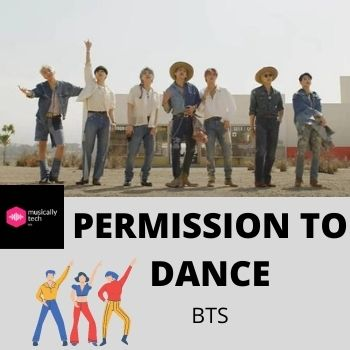 Permission To Dance Chords by BTS - 코드 댄스 허가
